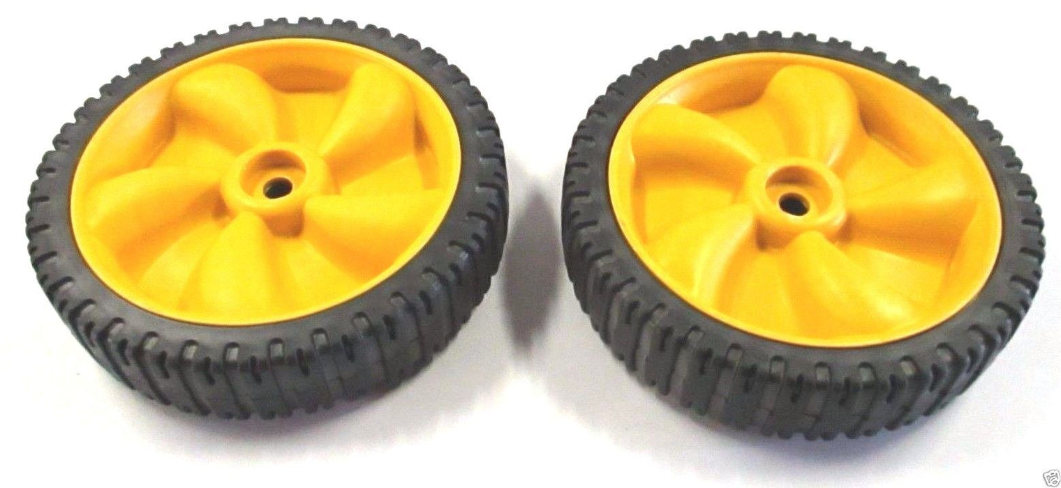 2 Pack Genuine MTD 634-04100A Front Wheel Fits Yard-Man Yard Machines Bolens OEM