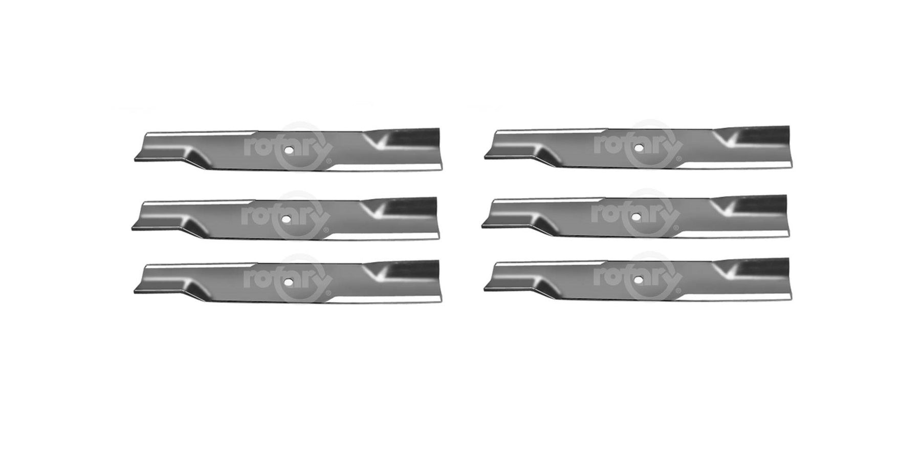 6 Pack High-Lift Lawn Mower Blades Fits Dixie Chopper 30227-60H