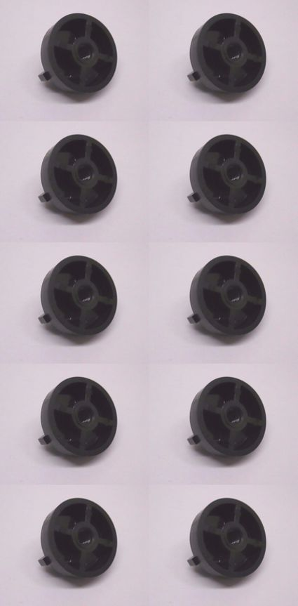 10 Pack Genuine Tecumseh 650886 Air Filter Wing Nut 1/4-20 OEM