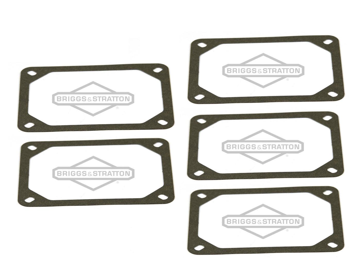 5 Pack Genuine Briggs & Stratton 690971 Rocker Cover Gasket Replaces 273486 OEM