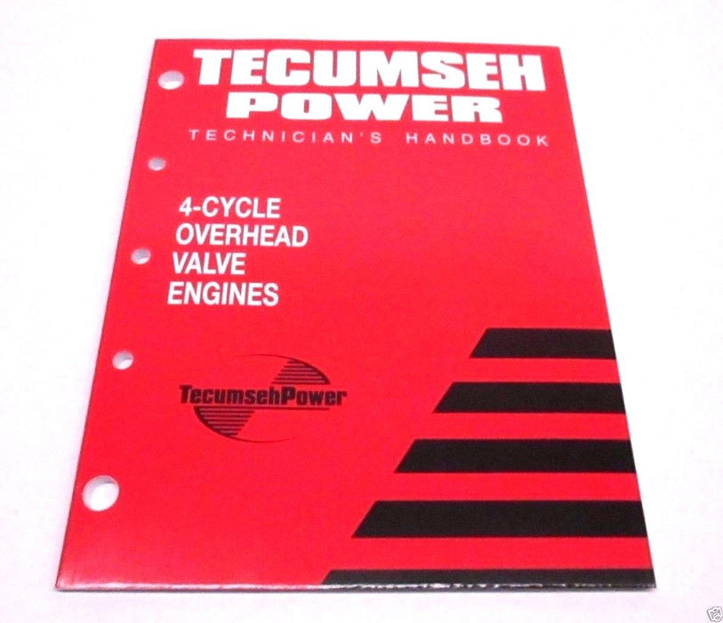 Genuine Tecumseh 695244A Technician's Handbook For 4-Cycle OHV Engines OEM