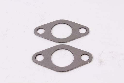 2 Pack Genuine MTD 721-0460 Exhaust Gasket Fits Craftsman Huskee Troy Bilt White