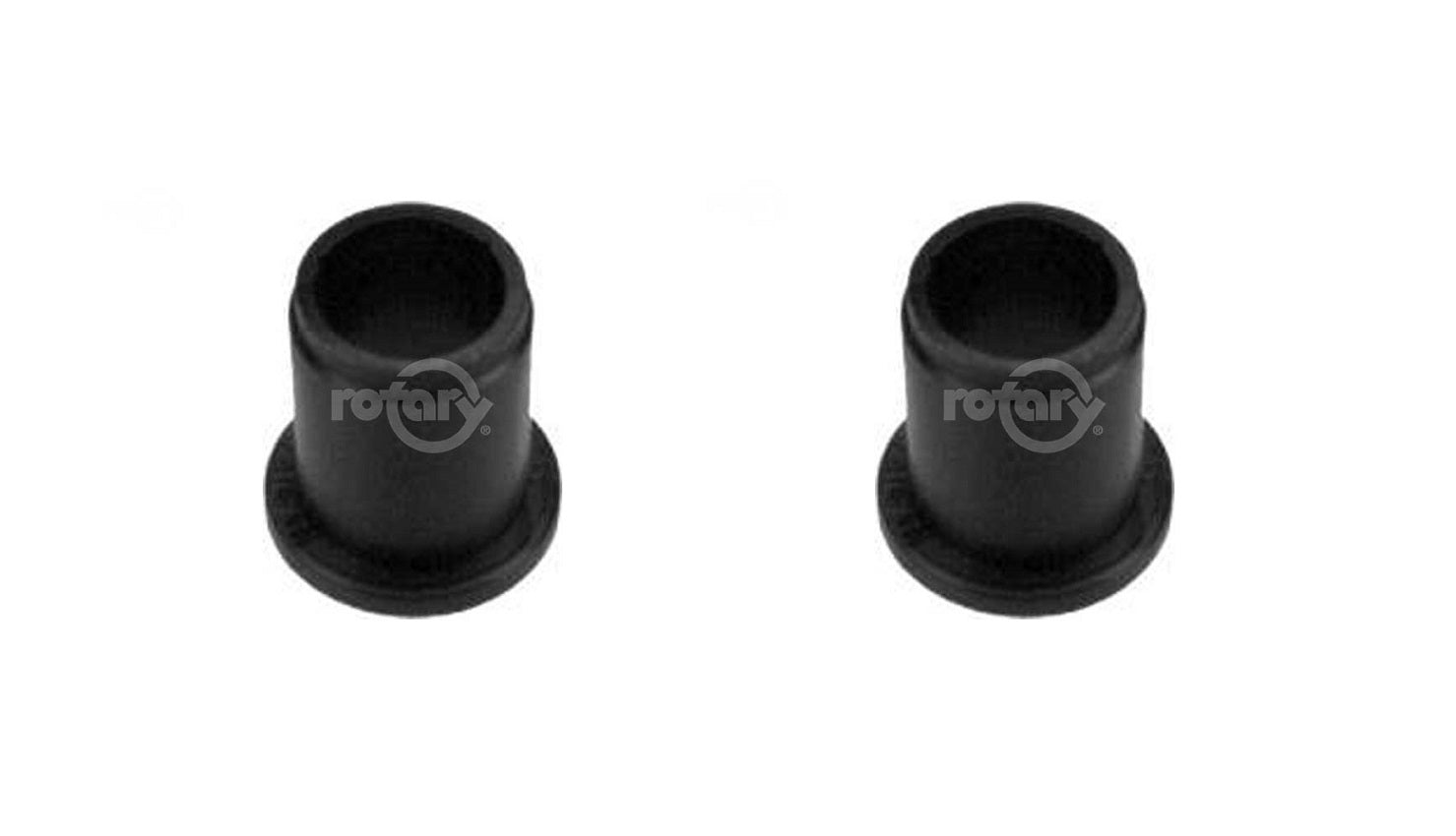 2 Pack Nylon Wheel Bushing Fits Craftsman Huskee MTD Troy Bilt 741-0487C +