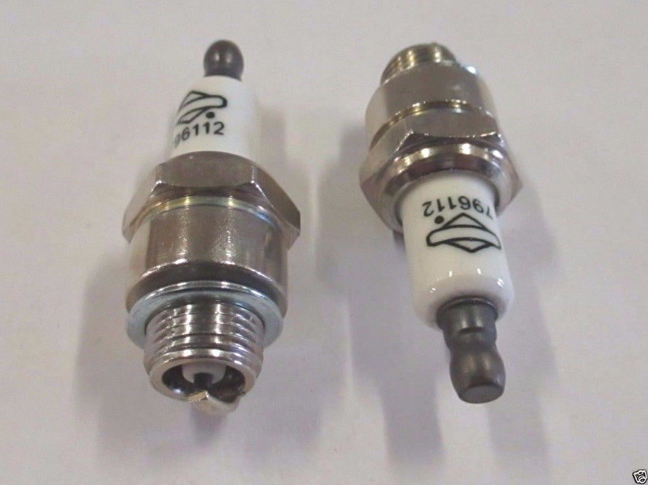 2 Pack Genuine Briggs & Stratton 796112 Spark Plug Fits Champion J19LM RJ19LM