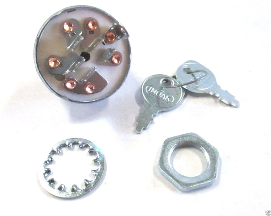Genuine MTD 925-1396A Ignition Switch 6 Pin Fits Bolens Troy-Bilt Huskee White