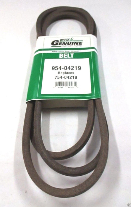 Genuine MTD 954-04219 Mower Deck Belt For Cub Cadet Columbia Craftsman Troy-Bilt