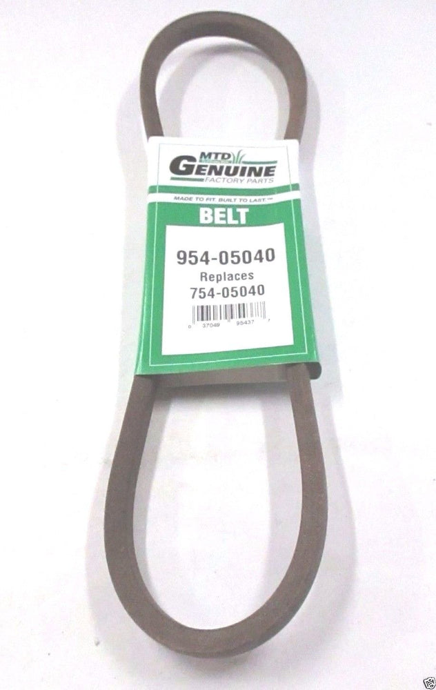 Genuine MTD 954-05040 Drive Belt For Bolens Cub Cadet Huskee Craftsman Troy-Bilt