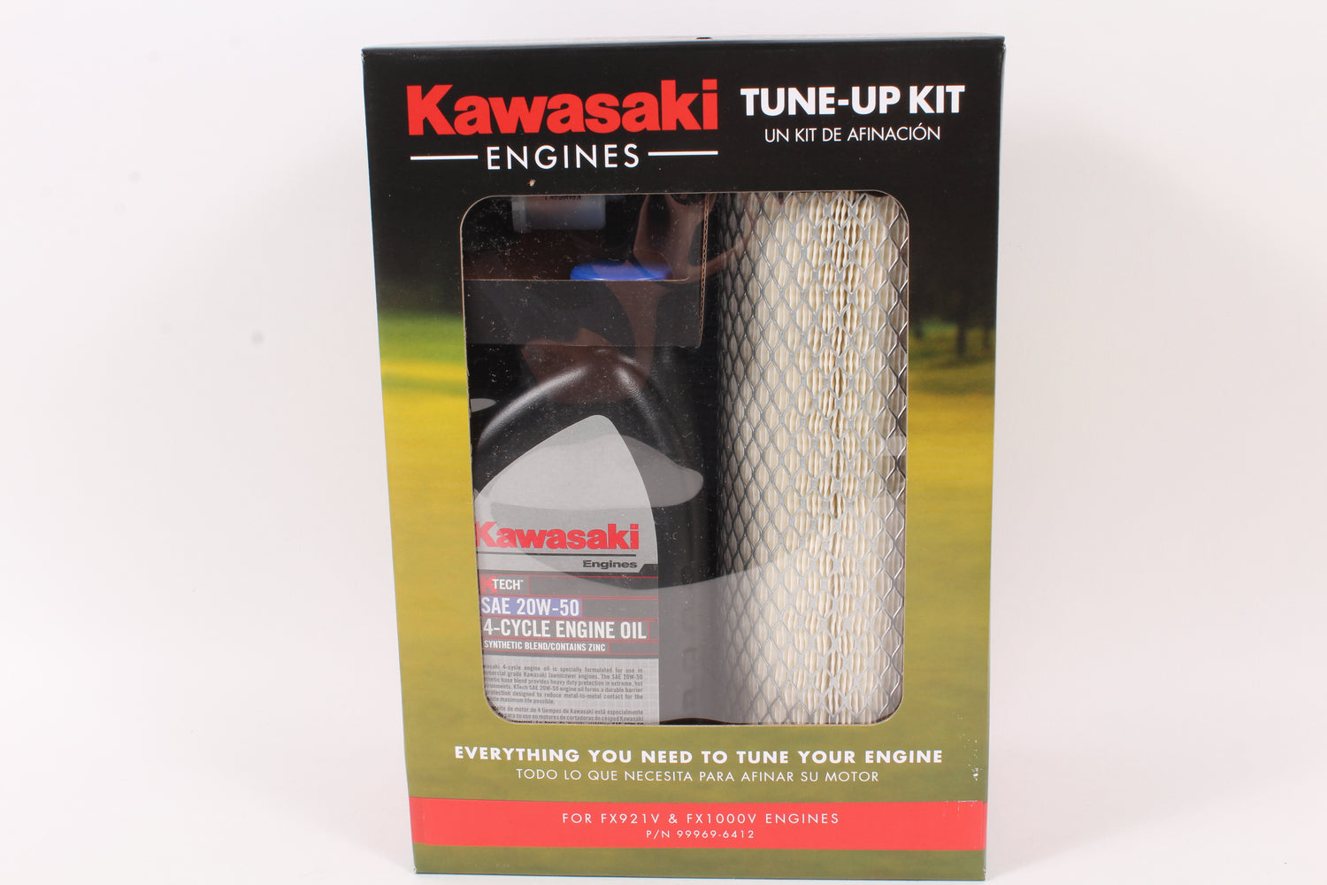 Genuine Kawasaki 99969-6412 Tune Up Kit For FX921V FX1000V 20W50