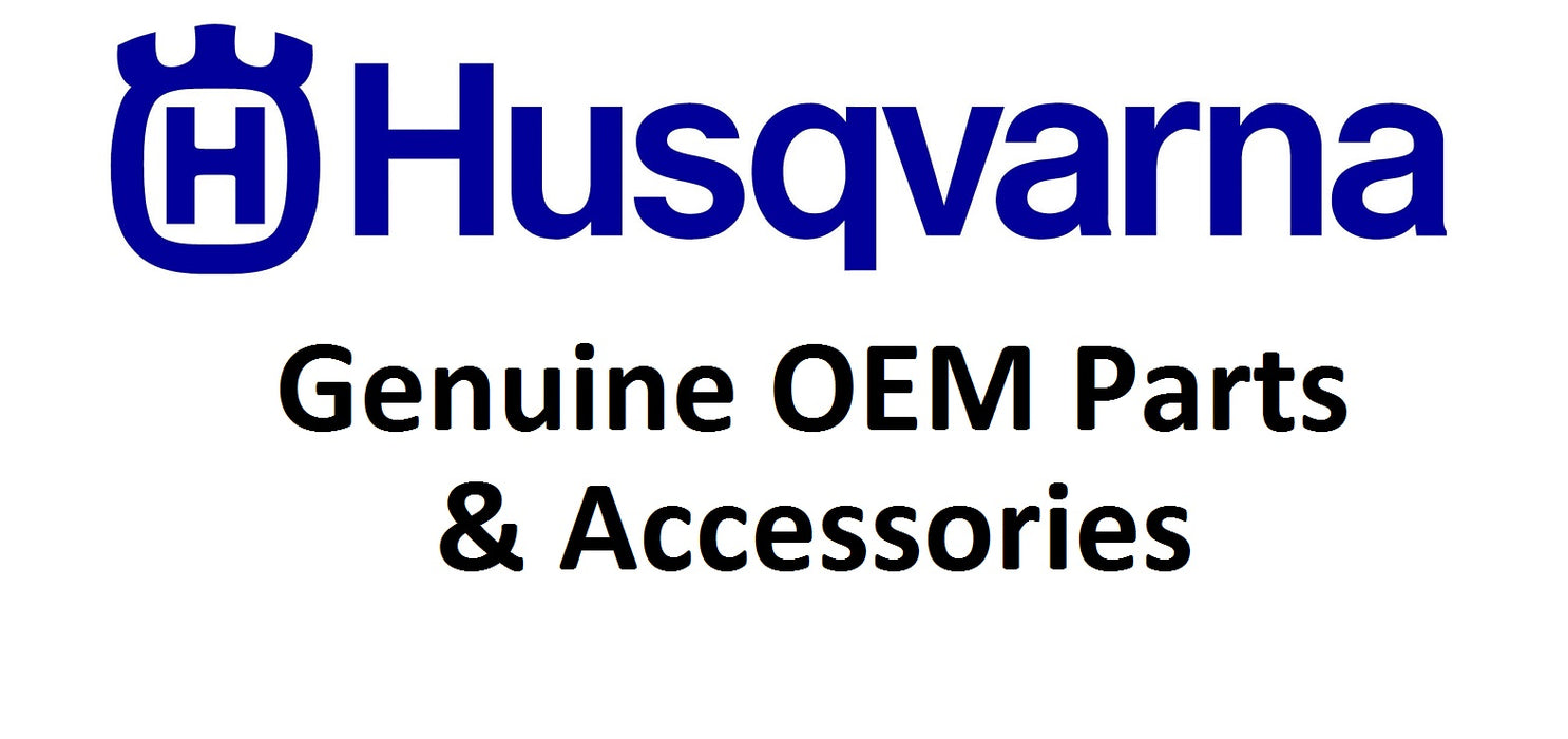 2 Pack Genuine Husqvarna 530095646 Fuel Filter OEM