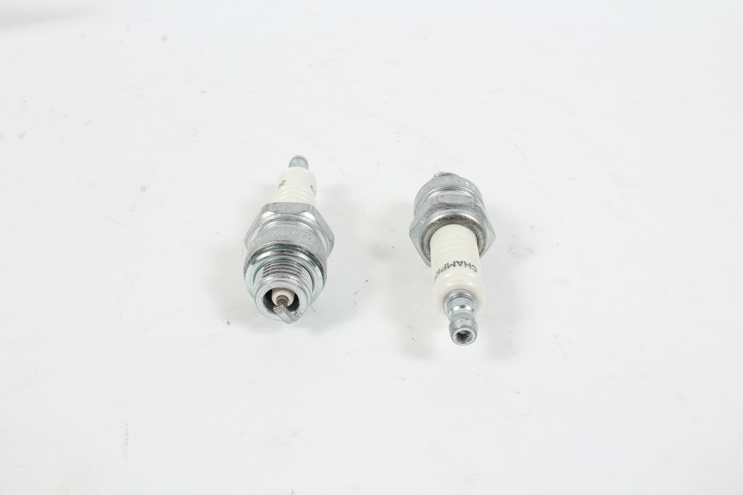2 Pack Genuine Champion J8C Spark Plug Copper Plus 841