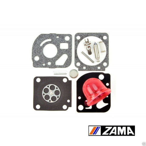 Genuine Zama RB-115 Carburetor Repair Rebuild Kit Fits C1U-W18 C1U-W24 RB115