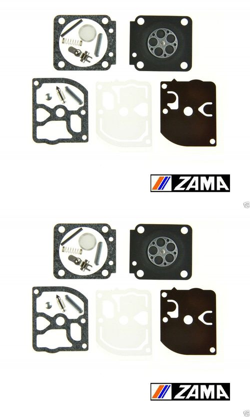 2 Pack Genuine Zama RB-130 Carburetor Repair Kit Fits C1M-EL28 A B Husqvarna