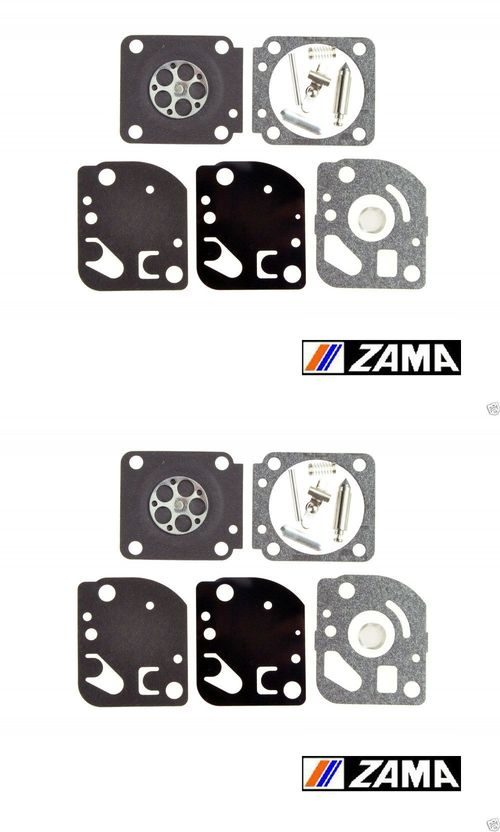 2 Pk OEM Zama RB-23 Carburetor Repair Rebuild Kit Fits C1U-K17 C1U-K27A B C Echo