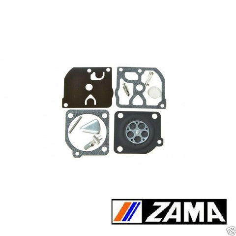 Genuine Zama RB-45 Carburetor Repair Rebuild Kit Fits C1Q Husqvarna RB45