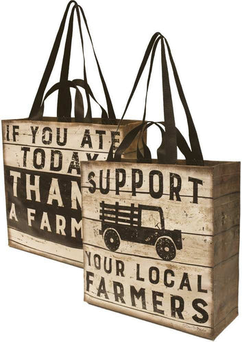 Market Tote - Support Your Local Farmer