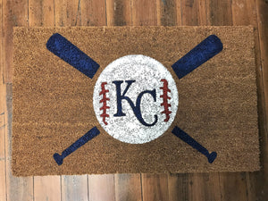 Door Mat - Kansas City Royals