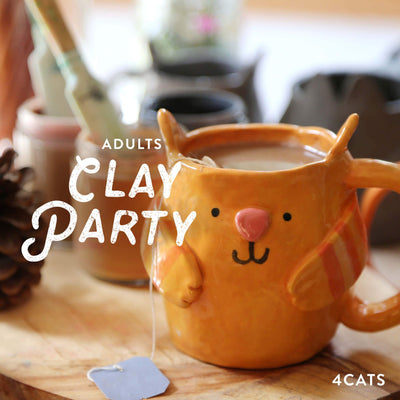4Cats Adult Clay Party