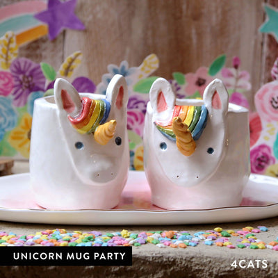 4Cats Adult Clay Unicorn Party