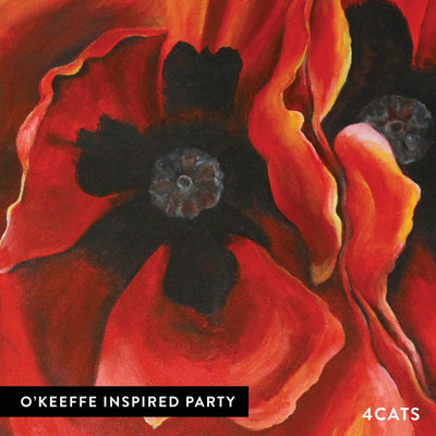 4Cats Adult O'Keeffe Painting Party