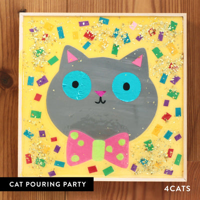 4Cats Kids Pouring Cat Party