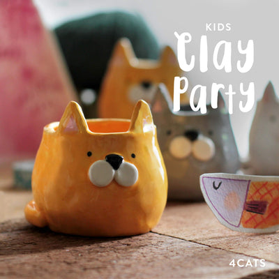 4Cats Kids Clay Party