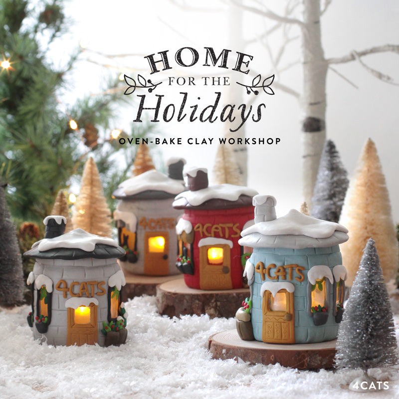 Home For The Holidays—Oven-Bake Clay