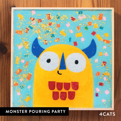 4Cats Kids Pouring Monster Party