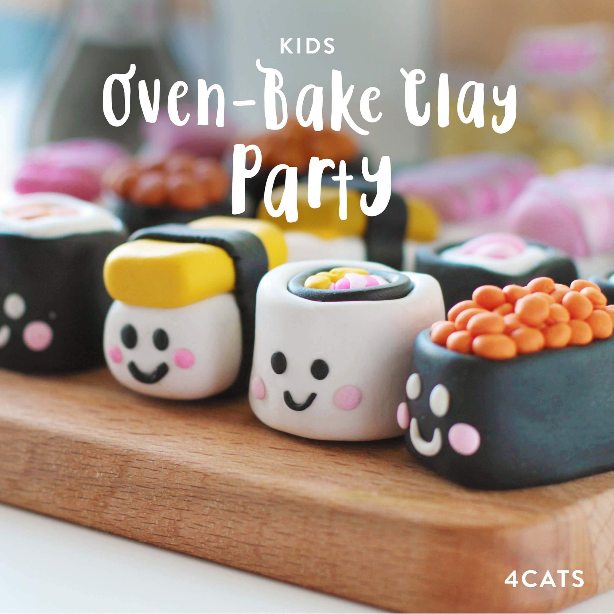 Kids Oven-Bake Clay Party