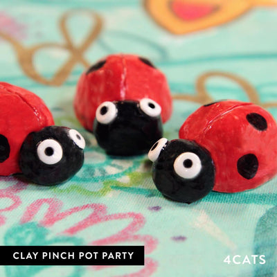 4Cats Kids Pinch Pot Clay Workshop