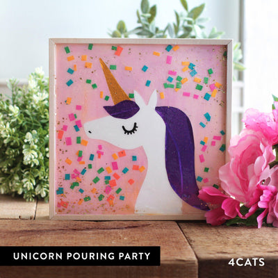 4Cats Kids Pouring Unicorn Party