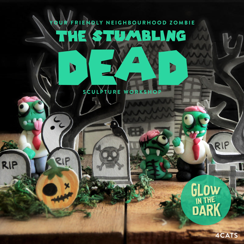 The Stumbling Dead—Oven-Bake Clay