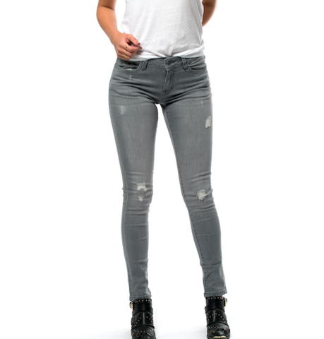 Ripped Denim Jeans - Grey ✖ Urban Classics