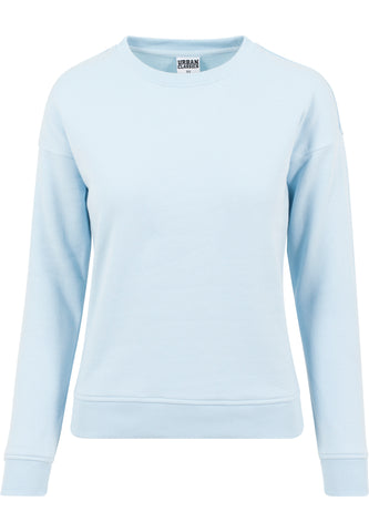 Ladies Sweat Crew babyblue
