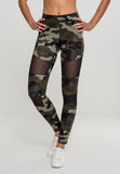 Ladies Woodcamo Tech Mesh Leggings