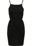 Ladies Short Spaghetti Pique Dress sort