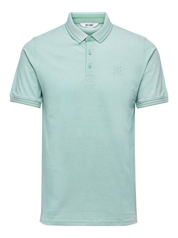 Stan polo shirt aquifer