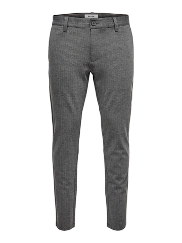 Performance Pants Grey Stripe