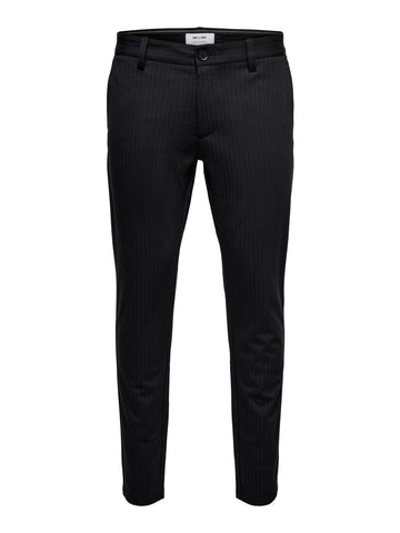 Performance Pants Black Stripe
