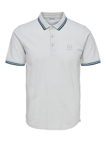 Stan polo shirt cloud dancer