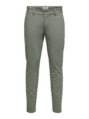 Performance Pants Melange olive night