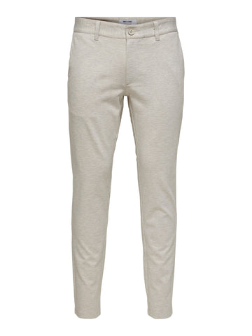 Performance Pants Melange Chincilla