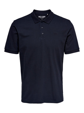 Scott polo dark navy