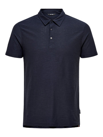 Silkas polo dark navy