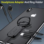 Headphone Adapter And Ring Holder