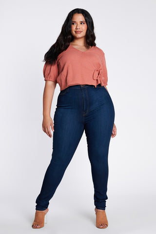 THE  PERFECT HIGH JEAN (SIZES REG-PLUS)