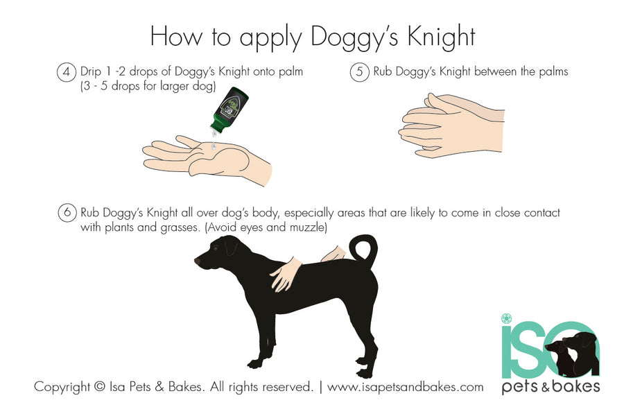Doggy's Knight - Geranium & Lavender