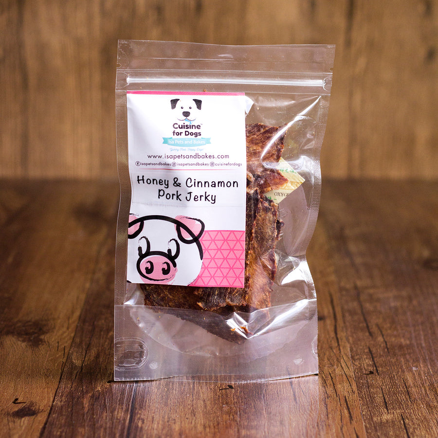 Honey & Cinnamon Pork Jerky