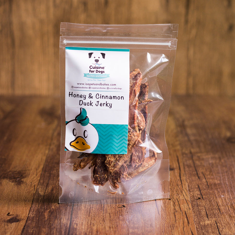 Honey & Cinnamon Duck Jerky