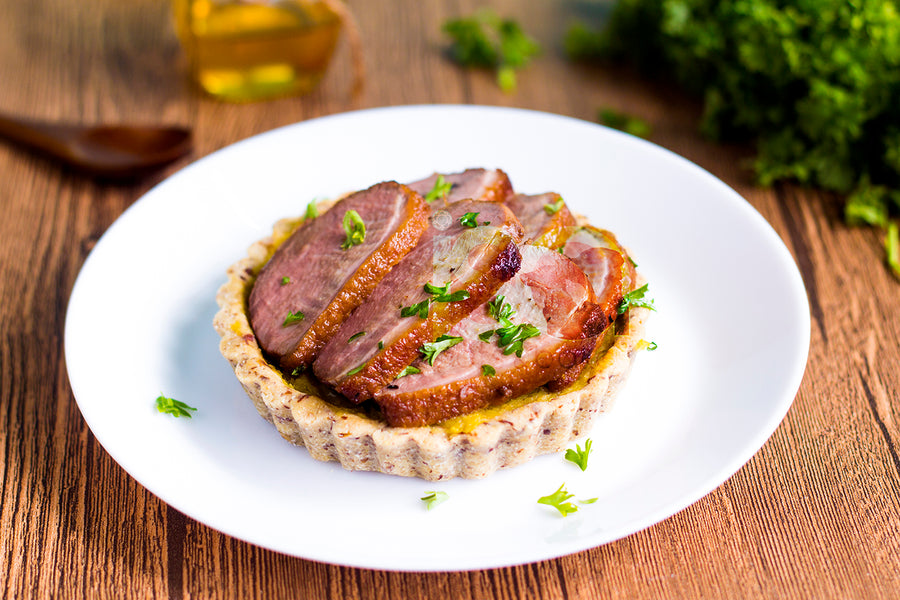 Roast Duck Tart (Frozen Pack)