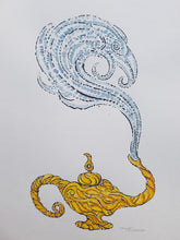 Load image into Gallery viewer, Original Aladdin lamp illustration